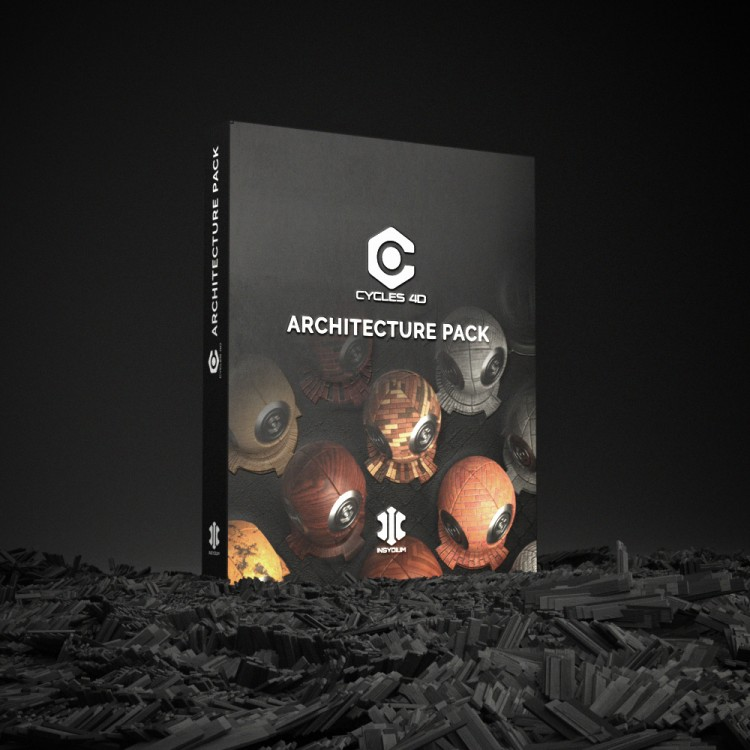 Cycles 4D Architecture Pack