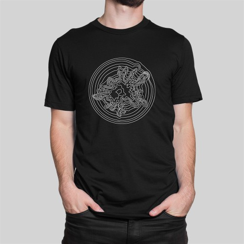 Artist Series Explosia t-shirt in black