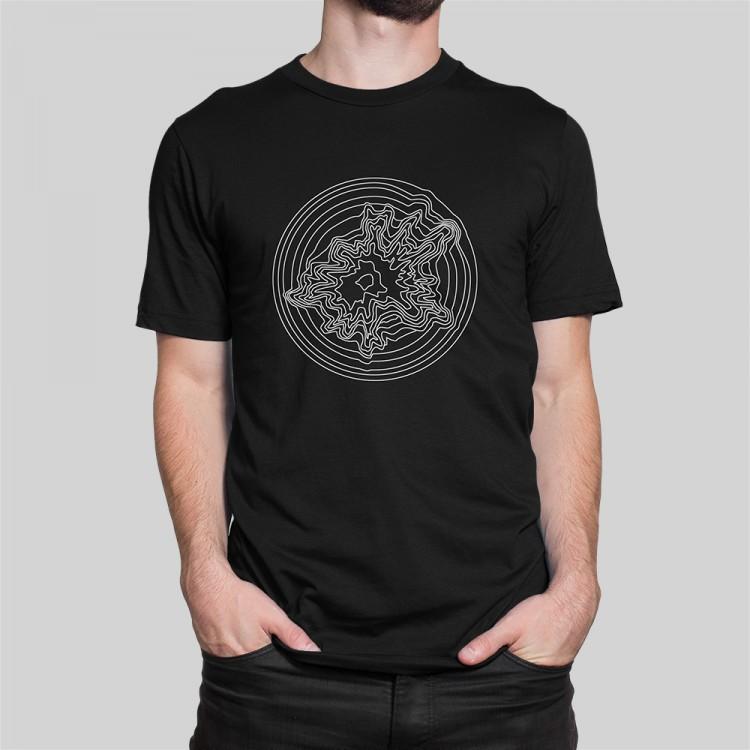 Artist Series Explosia t-shirt in black