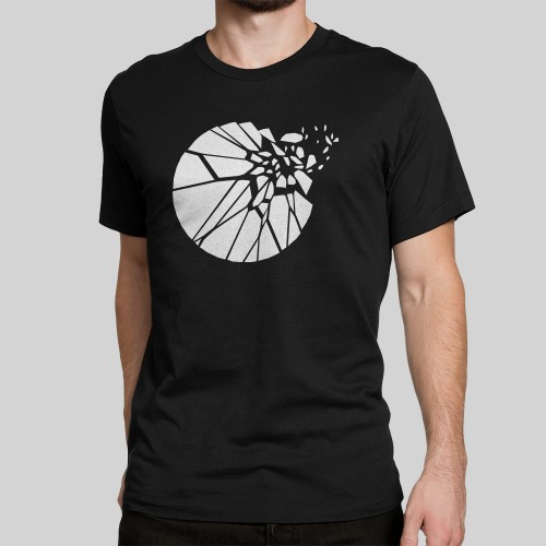 Artist Series Shatter t-shirt in black