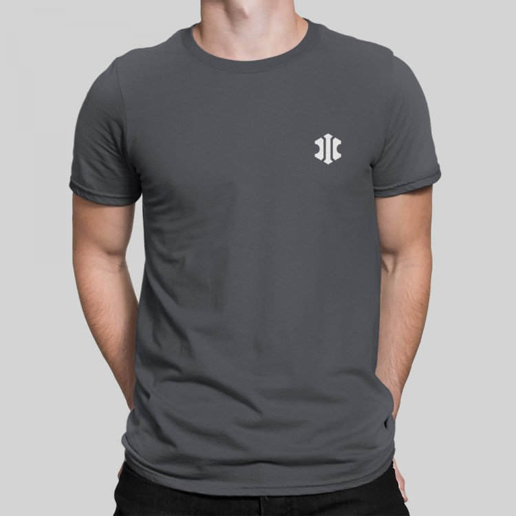 INSYDIUM t-shirt in charcoal