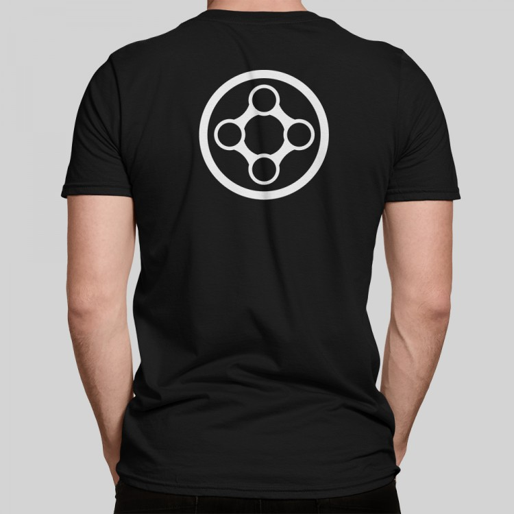 X-Particles Hero t-shirt in black