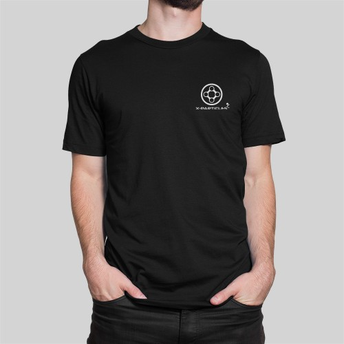 X-Particles t-shirt in black
