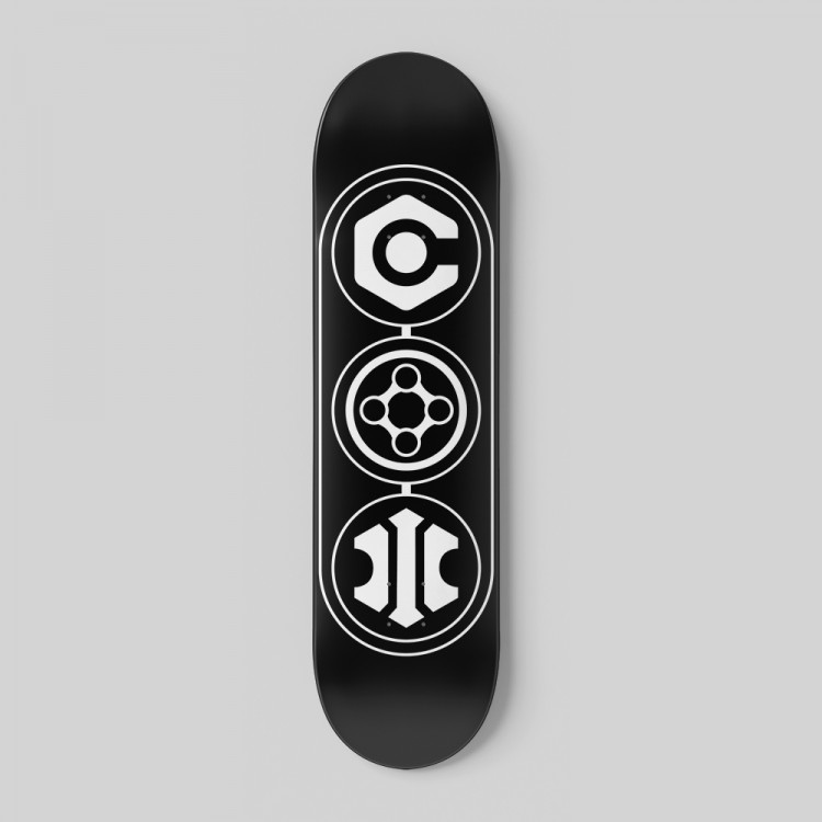 INSYDIUM Skateboard Deck
