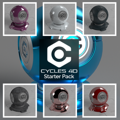 Cycles 4D Starter Pack